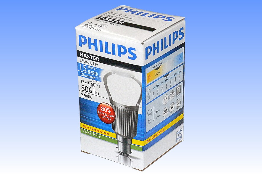 Philips Led 60w 806lm Retrofit With Remote Phosphor